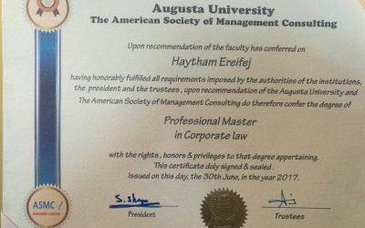 Professional Master in Corporate Law