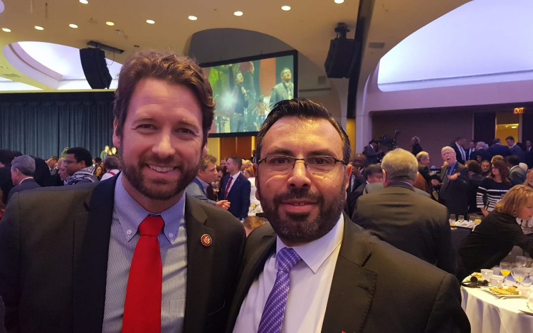 Meeting member of Congress Joe Cunningham of south Carolina in DC